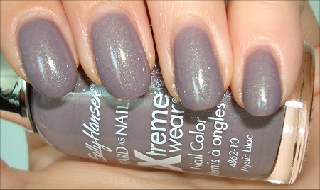 Sally Hansen Mystic Lilac Swatches & Review