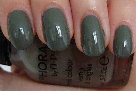 Sephora by OPI Caught With My Khakis Down Swatches & Review