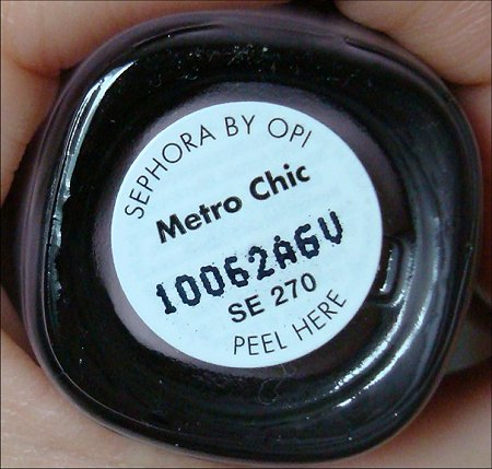 Sephora by OPI Metro Chic Nail Polish Review