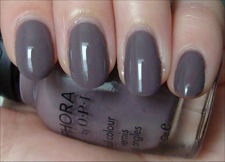 Sephora by OPI Metro Chic Swatch