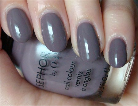 Sephora by OPI Metro Chic Swatches Review