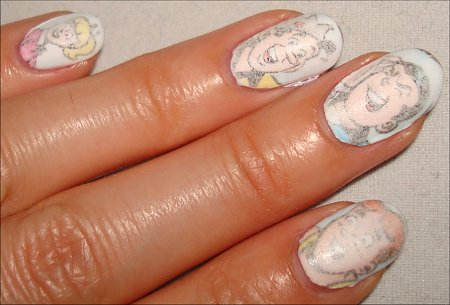 Newspaper Comic Nails Archie Comic Book Nails