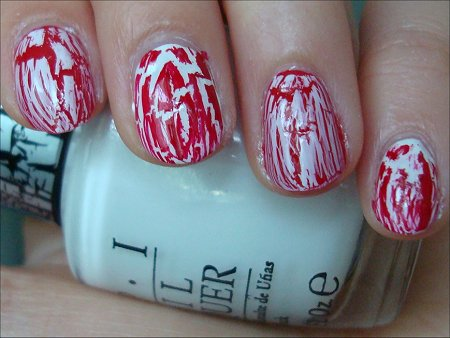 Canada Day Nails Swatches & Pictures