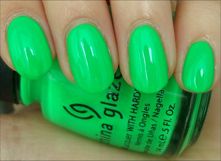 China Glaze Kiwi Cool-Ada Review & Swatch
