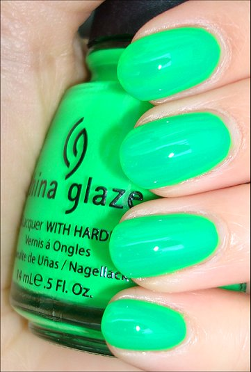 China Glaze Kiwi Cool-Ada Swatches