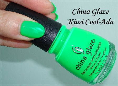China Glaze Kiwi Coolada Review & Swatches