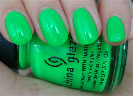 China Glaze Kiwi Koolada Swatch & Review