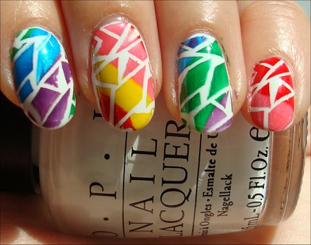 Crackle Rainbow Konadicure Tutorial