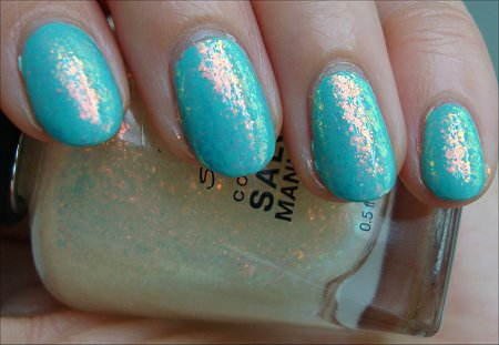 Hidden Treasure Sally Hansen Complete Salon Manicure Review