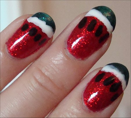 How to Create Watermelon Nails
