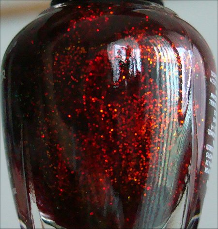 KleanColor 231 Chunky Holo Scarlet Pictures