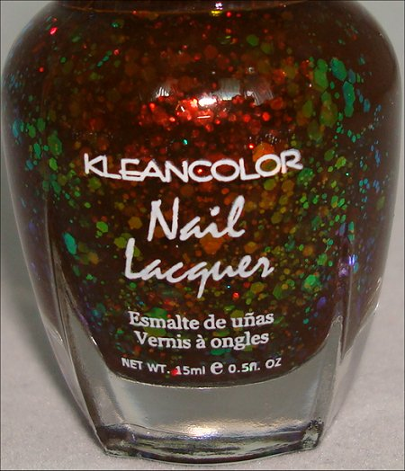KleanColor Chunky Holo Black Pictures