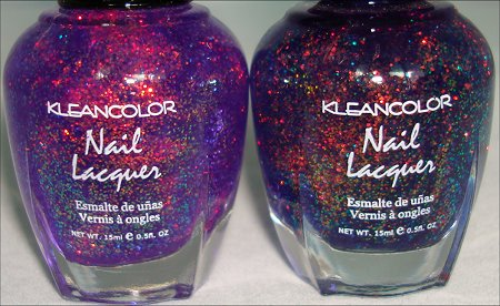 KleanColor Chunky Holo Purple & KleanColor Chunky Holo Bluebell