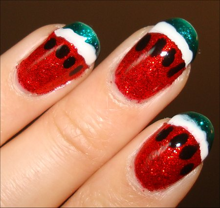 Nail Art Watermelon Nails