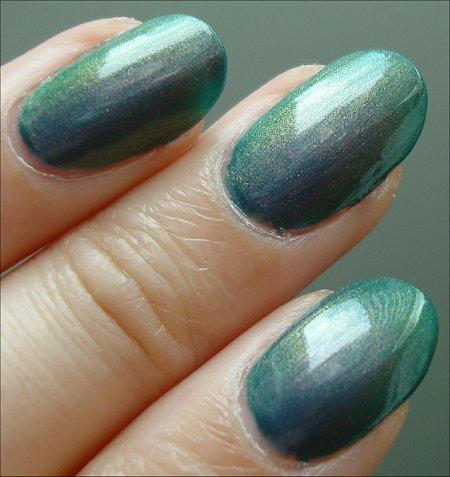 Nubar Indigo Illusion Multi-Chrome Polish Swatches