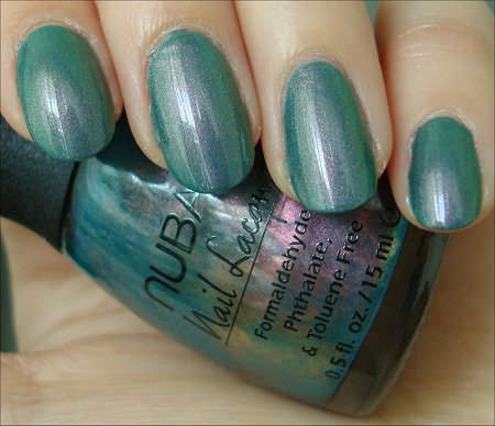 Nubar Swatch Indigo Illusion Review