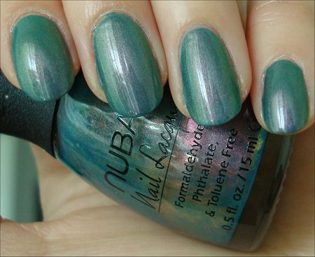 Nubar Swatches Indigo Illusion Review