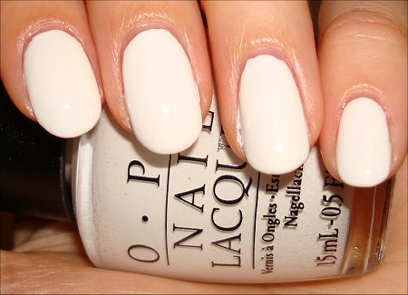 OPI Alpine Snow Swatches
