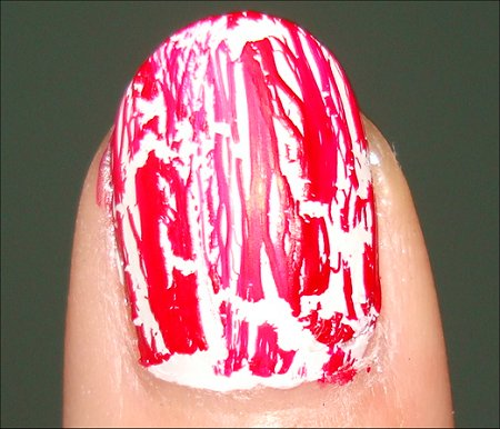 OPI Red Shatter Review & OPI White Shatter Review