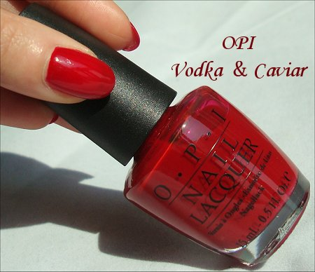 OPI Vodka & Caviar Review