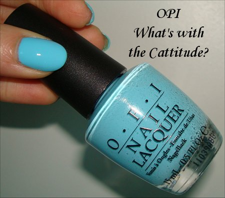OPI What's with the Cattitude Review & Swatches