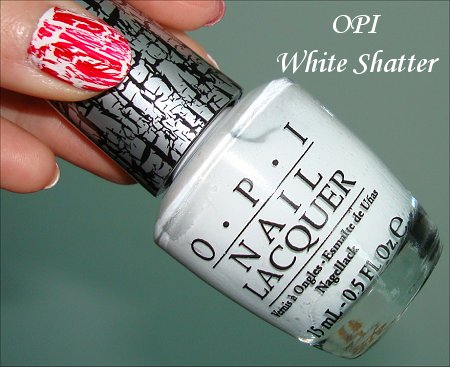 OPI White Shatter Swatches & Review