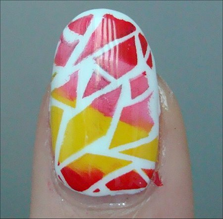 Rainbow Crackle Nail Art Tutorial & Swatches Konad Special Nail Polish