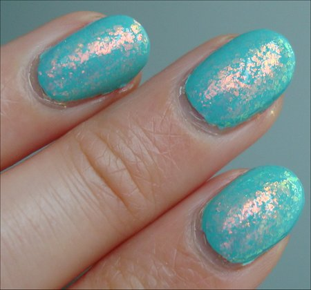 Sally Hansen Complete Salon Manicure Swatches & Review Hidden Treasure