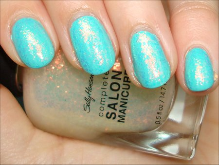 Sally Hansen Hidden Treasure Flakie Polish Review & Swatch