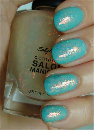 Sally Hansen Hidden Treasure Swatches
