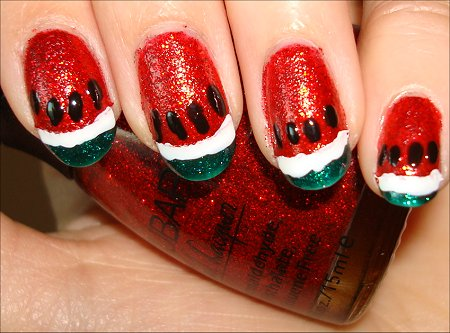 Watermelon Manicure Tutorial