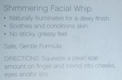 Image of e.l.f. Camilia Shimmering Facial Whip
