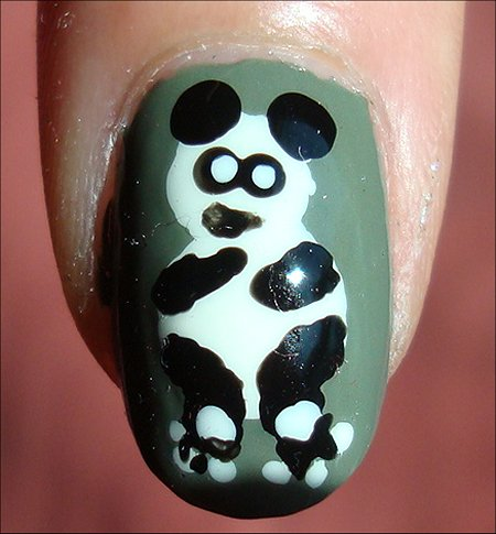 Bear Nail Art & Tutorial Swatches
