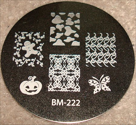 Bundle Monster Image Plate BM 222