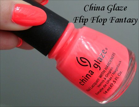 China Glaze Flip Flop Fantasy Review & Swatch
