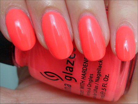 China Glaze Flip Flop Fantasy Review, Swatches & Pictures