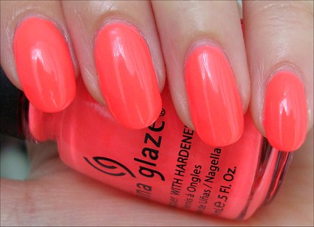 China Glaze Flip Flop Fantasy Swatch & Review