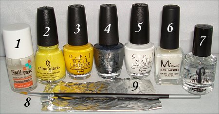 Egg Nail Art How-to Tutorial