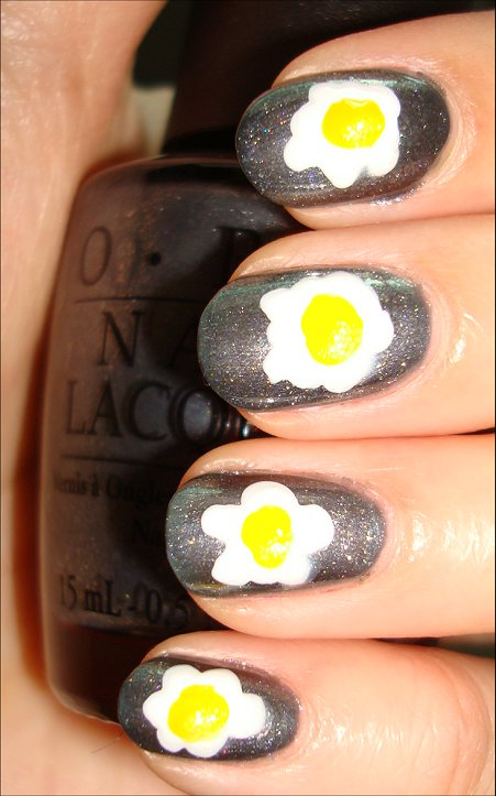 Egg Nails Tutorial, Pictures & Swatches