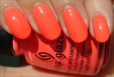 Flip Flop Fantasy Swatch & Review China Glaze