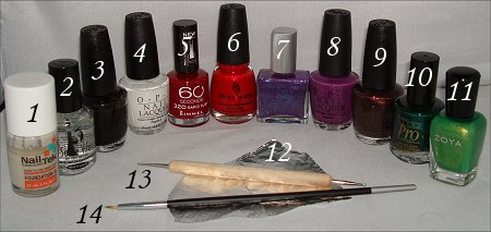 Fruit Nail Art Grape Nails Tutorial