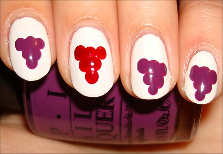 Grape Nail Tutorial & Pictures