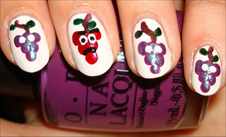 Grapes Manicure The Grapes of Wrath Expression & Eyes