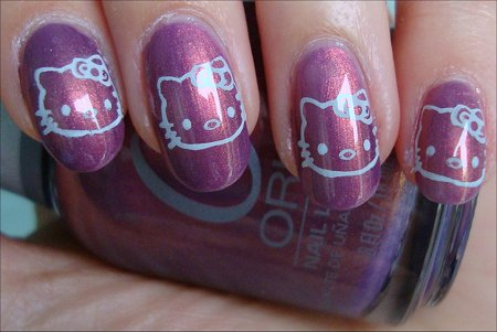 Hello Kitty Nail Art Pictures