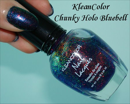 KleanColor Chunky Holo Bluebell Pictures