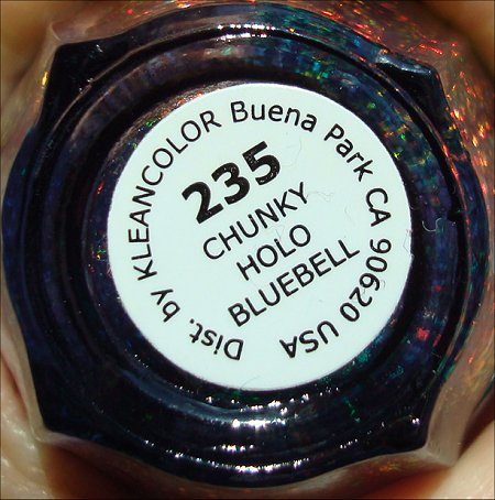 KleanColor Chunky Holo Bluebell Review & Pictures