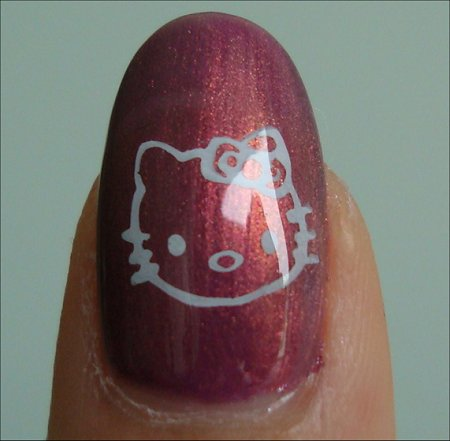 Nail Art Hello Kitty Swatches