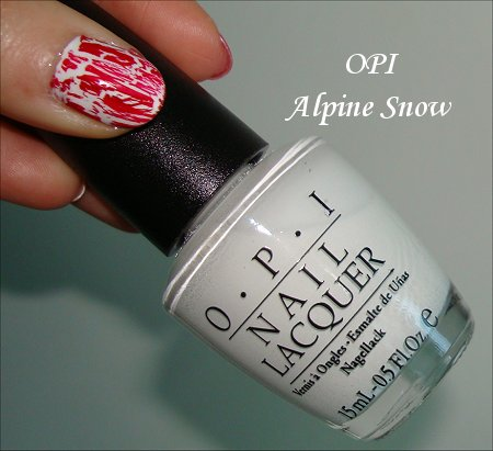 OPI Alpine Snow Swatches & Review