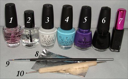 Octopus Nail Tutorial & Pictures
