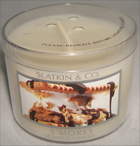 Slatkin & Co. S'mores Candle Review & Pictures